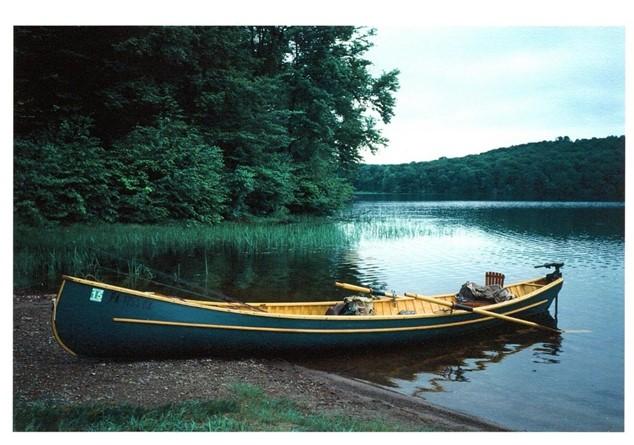 Y stern at Blue Mountain Lake