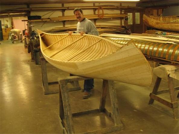 Doug Smith working on his 1889