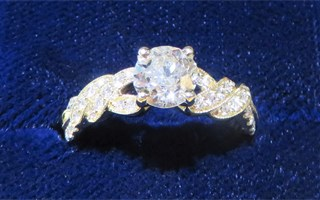 New European Diamond Ring