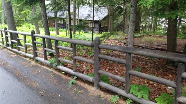 Custom Cedar Round Rail Fencing