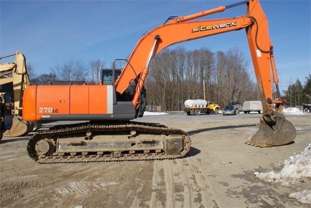 2007 Hitachi ZX270D Excavator