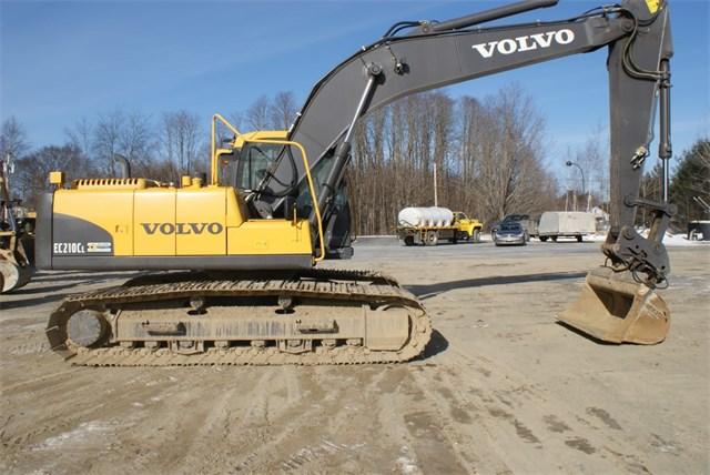 2012 Volvo EC210C Excavator
