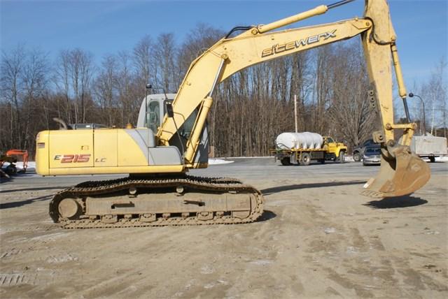2007 New Holland E215LC Excavator