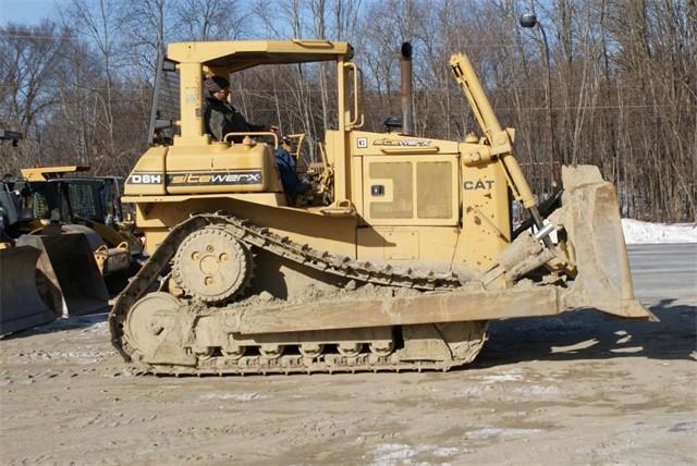 1986 Cat D6H Bulldozer