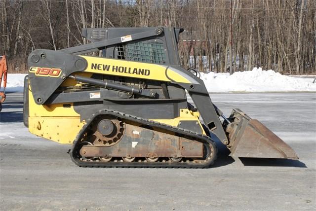 2008 New Holland C190 Skid Steer