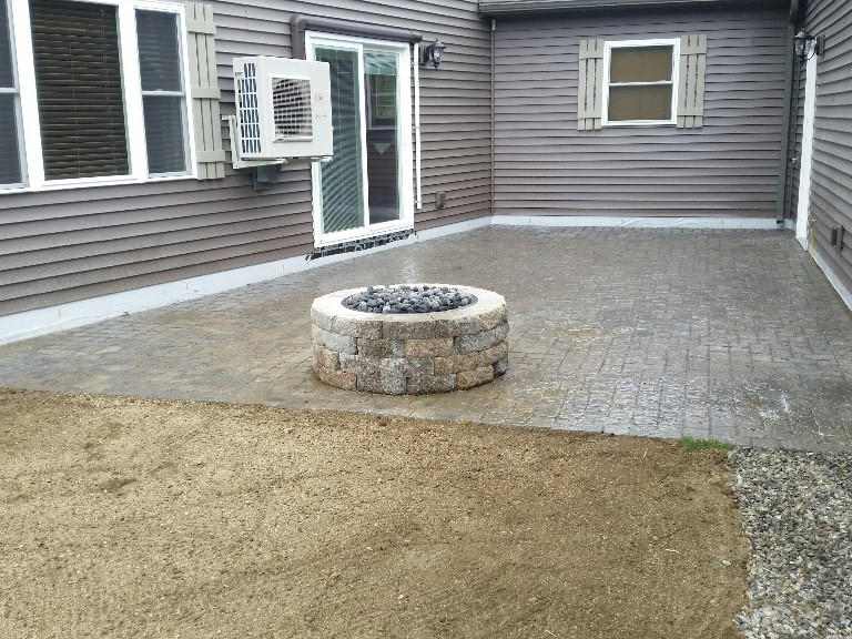 Propane or Natural Gas Fire Pit