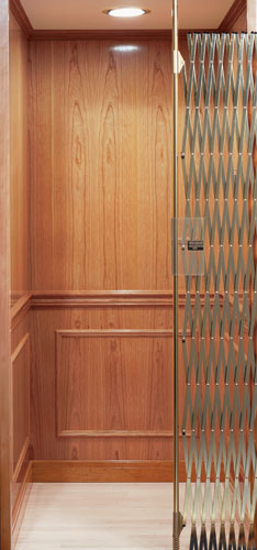 An elevator is a stylish addition to any multi-story home, big or small.