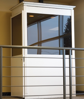 The Telecab adds the convienece of an elevator without the hassle of a hoistway.