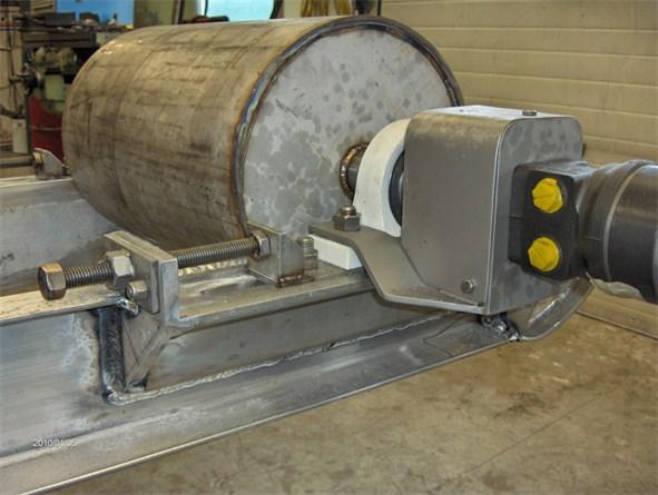 Stainless Steel & Aluminum Lobster Crate Conveyor