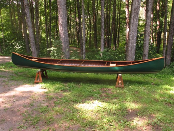 E.M. White 20' Guide Canoe