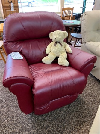 Carol's Favorite Leather Chair
