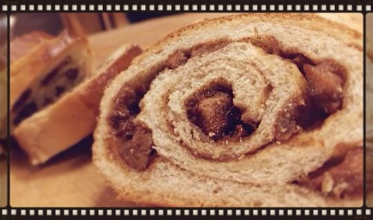 Sliced Cinnamon Swirl Bread