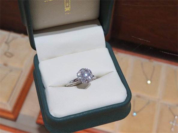Jabel Cluster Diamond Ring