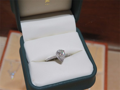 Pear Shape Diamond Halo Ring