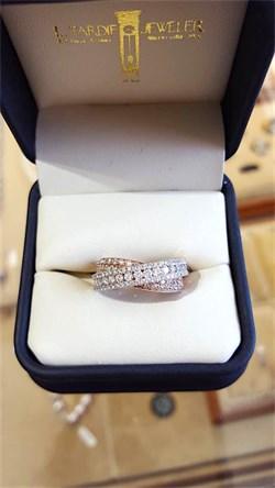 Kashi Criss Cross Diamond Ring