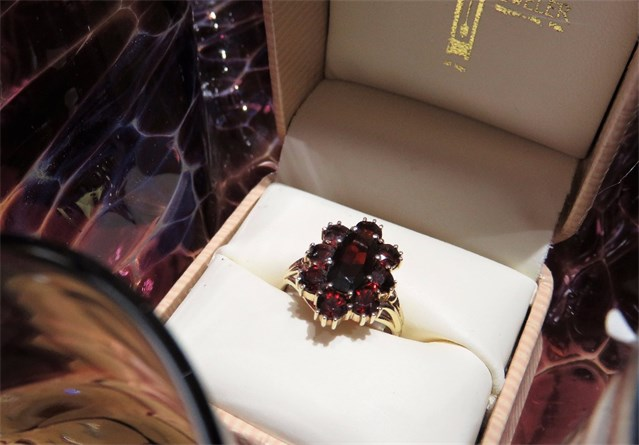 Garnet Multi-stone Ring