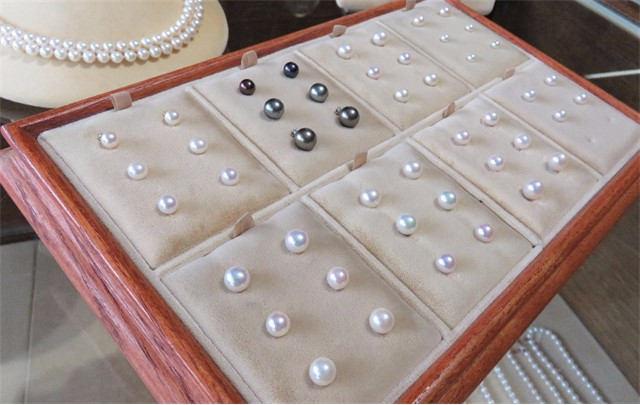 Assortment of Pearl Stud Earrings