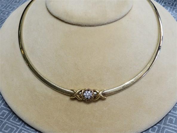 Jabel Omega Necklace with 18K Slides