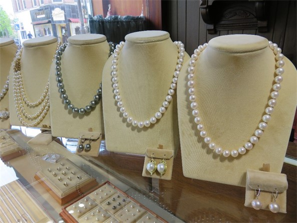 Selection of Pearl Necklaces