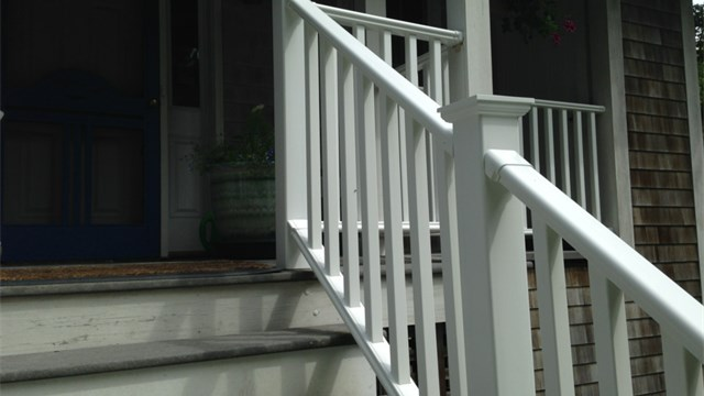 Vinyl Stair Hand Railing System