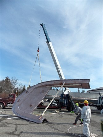 Flipping the foredeck