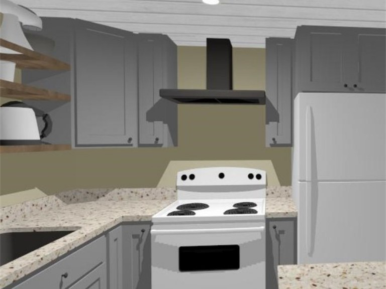 Brochu Basement Kitchenette