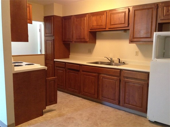 Timberview E or F Style 2 Bedroom Kitchen