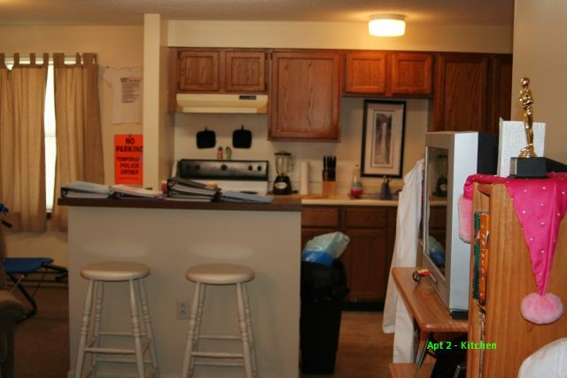 Founders Place 2 Bedroom Flat Kitchen