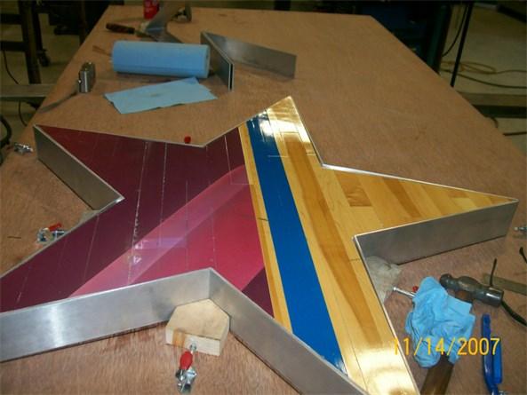 NBA Wood Floor