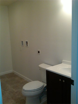 1st Floor Bath With Washer/Dryer Hook-Up