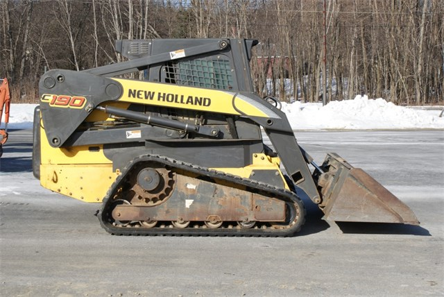 2008 New Holland C190 Skid Steer