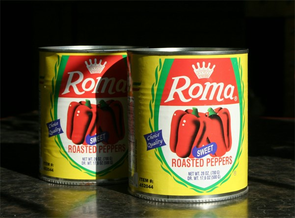 Roma Red Peppers