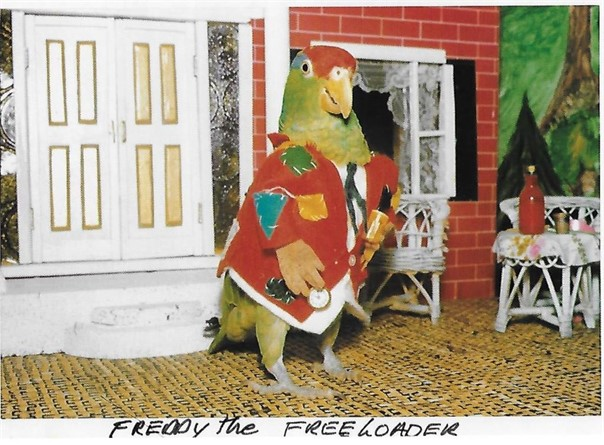 Freddy the freeloader