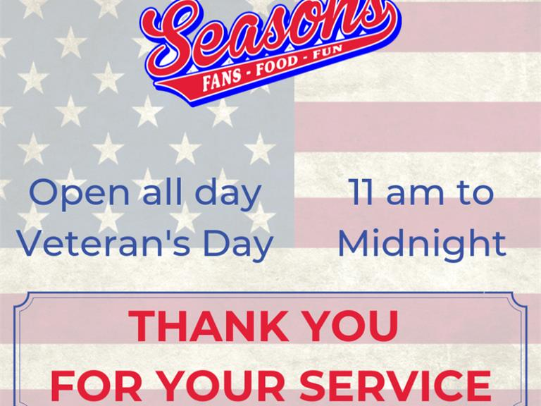 Celebrating our Military this Veteran's Day
