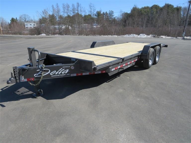 2021 Delta 14,000LB Tandem Axle Tilt Trailer (27TB-20)