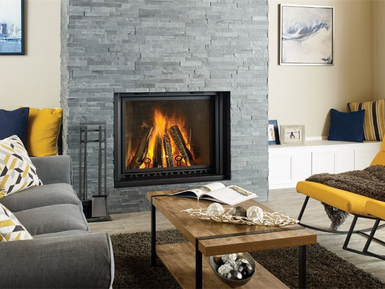 CF780 Large Wood fireplace