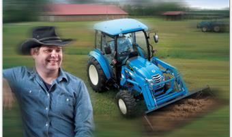 LS Tractor 4100 Seires