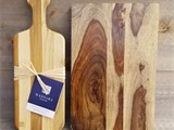 Teak Cutting Board & Bread Board