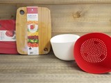 Flip-Chop Cutting Board & Colander/Bowl Combo